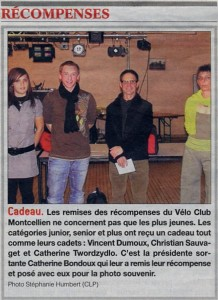 Article JSL du 25/11/2009