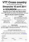 affichette VTT gourdon 2011