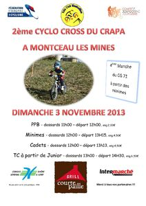 Affiche Cyclo Cross 2013